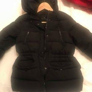 Zara girl quilted jacket